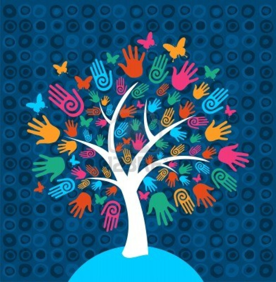 13534872-diversity-tree-hands-illustration-background