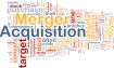 Background concept wordcloud illustration of merger acquisition